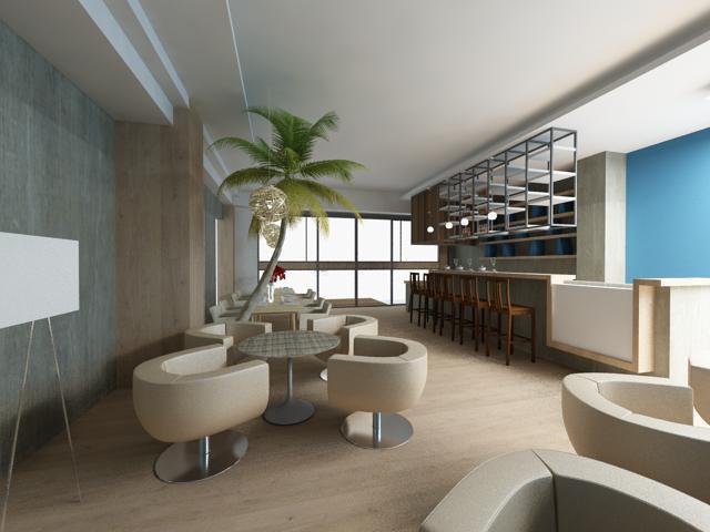 wpd_1317夏威夷风咖啡厅 | ::室内设计作品,装潢案例